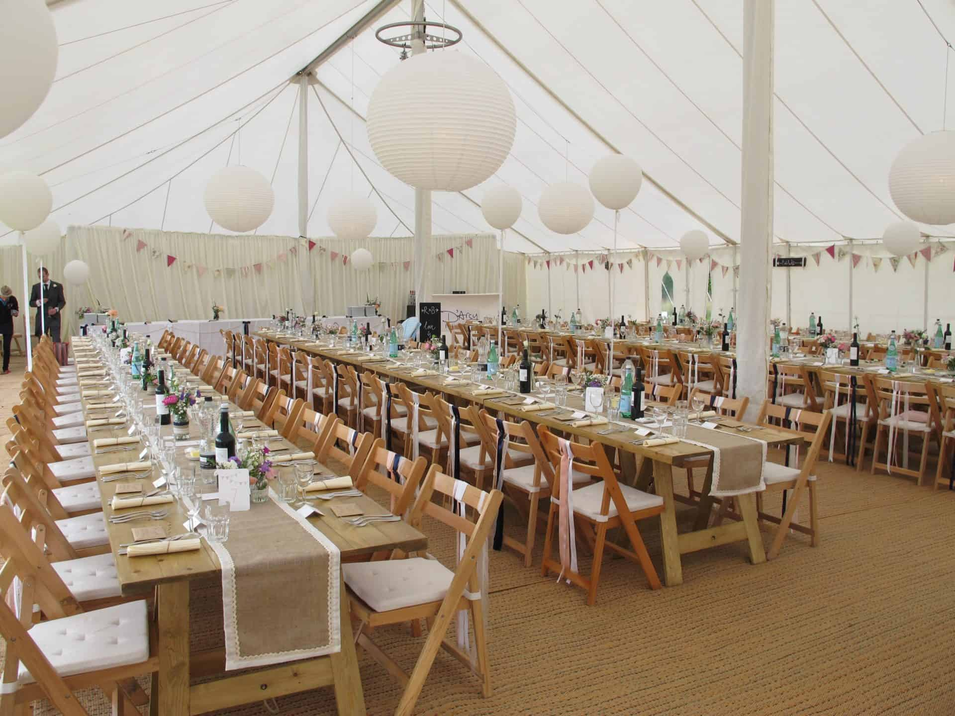 Plastic Seat Covers >> Furniture | Space Intense - Marquee Hire Gloucestershire